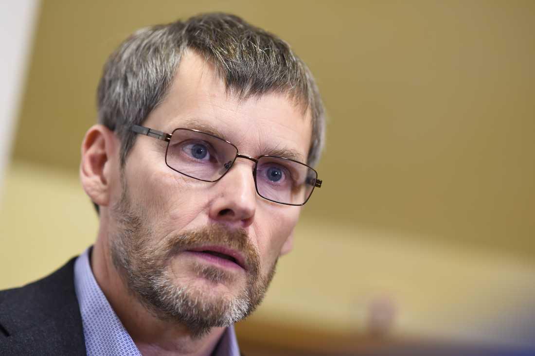 Johan Strid, generalsekreterare i Parasportförbundet, är kritisk över bristen på statligt stöd. Arkivbild.