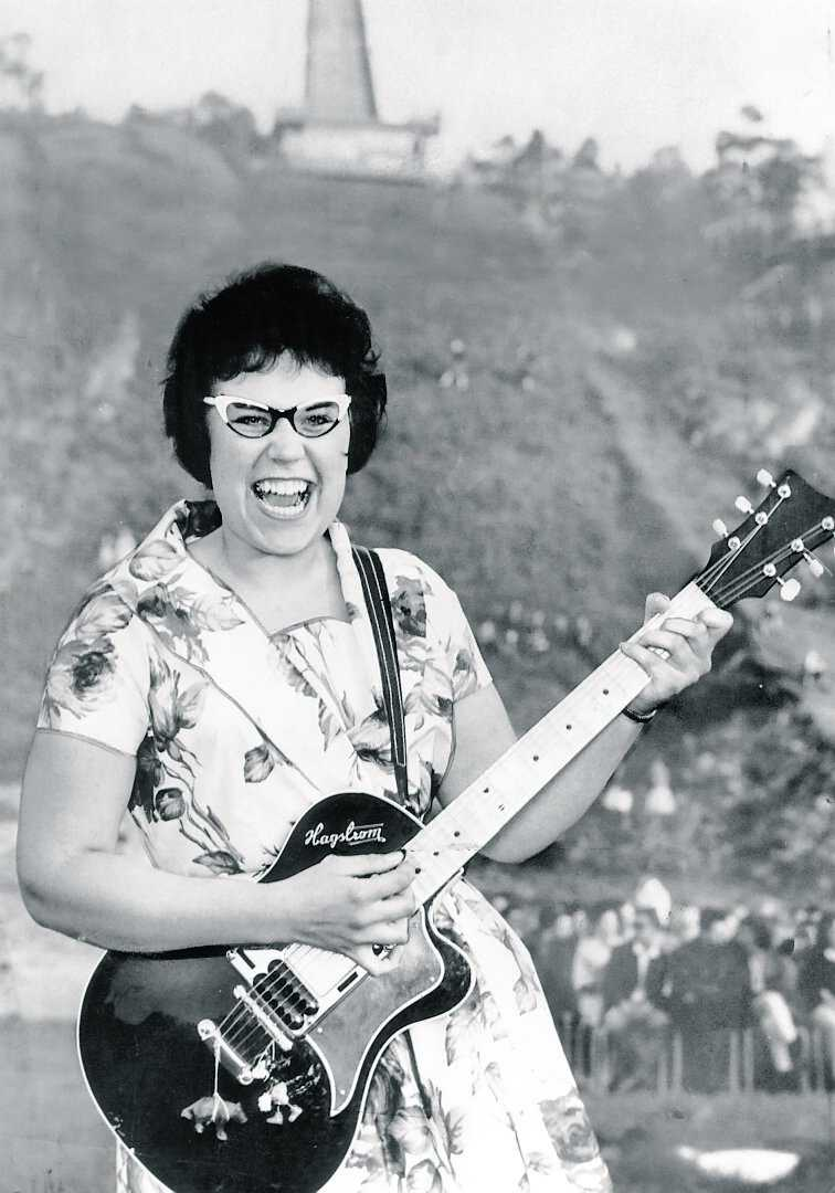 Blev 70 år Rock-Olga var en av Sveriges första rockartister på 1950-talet. Hon avled i går efter sviterna av en allvarlig blodförgiftning.