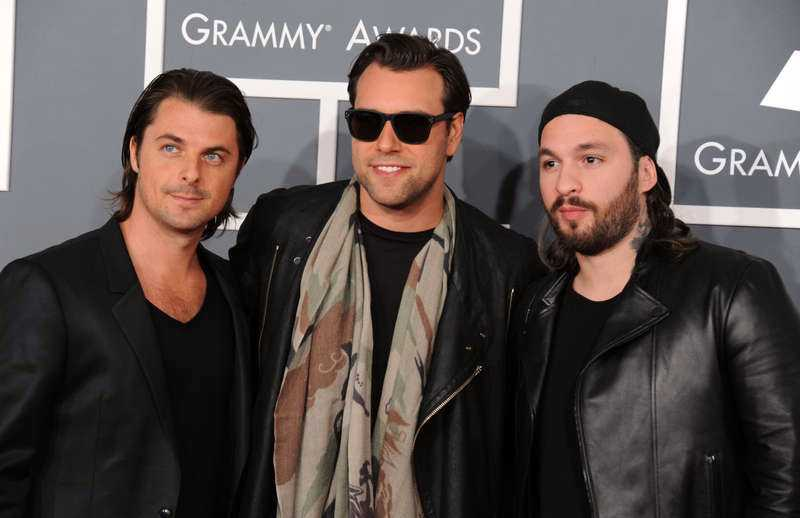 Swedish House Mafia - Axwell, Sebastian Ingrosso och Steve Angello.