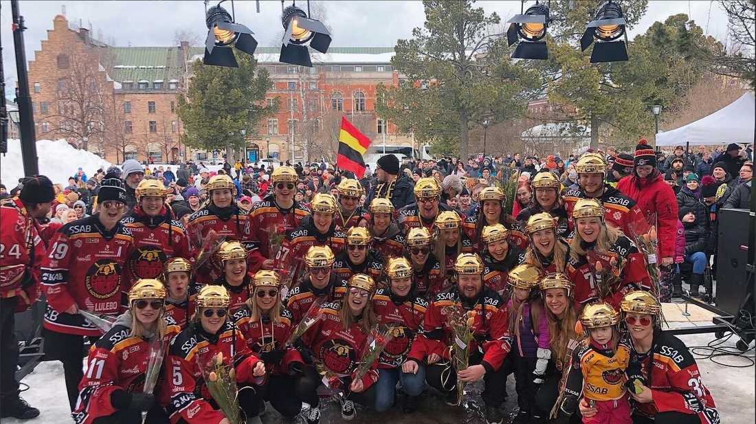 Luleå firades på torget