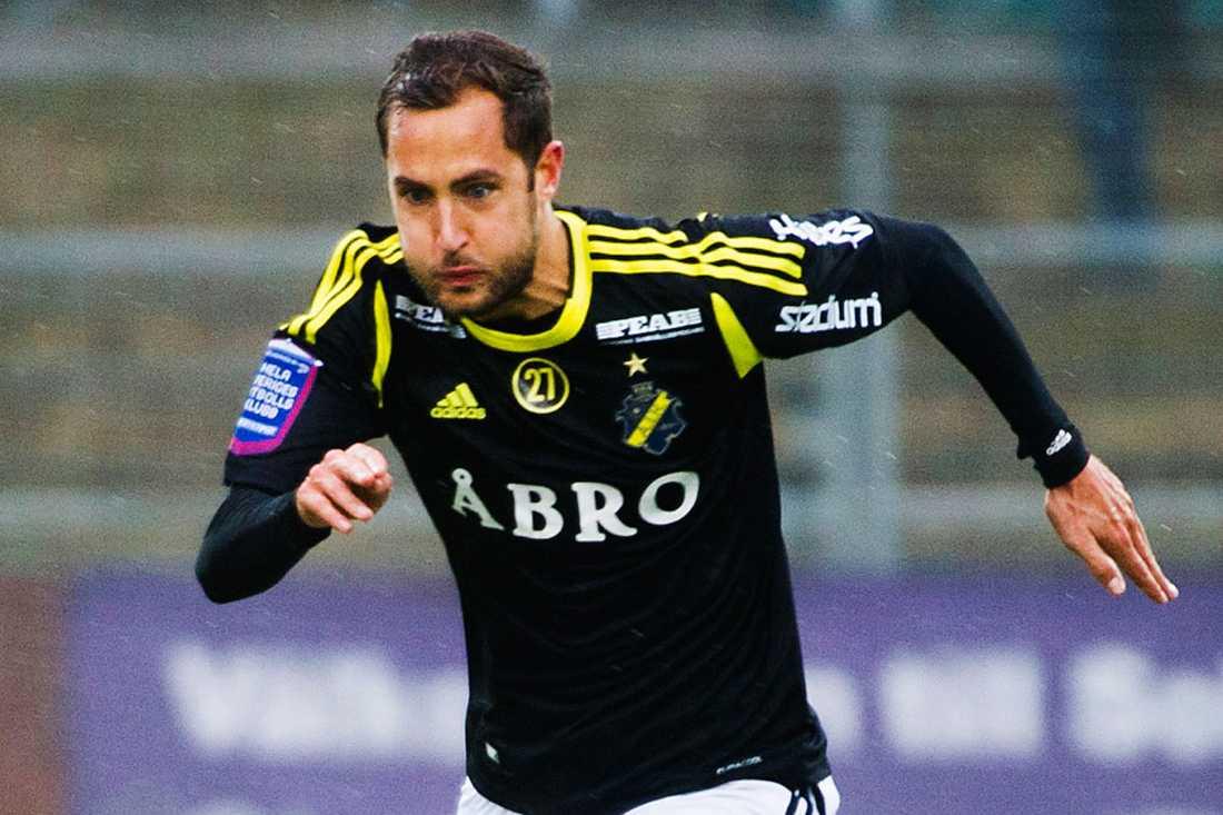 Nicklas Backman lämnade AIK 2013.