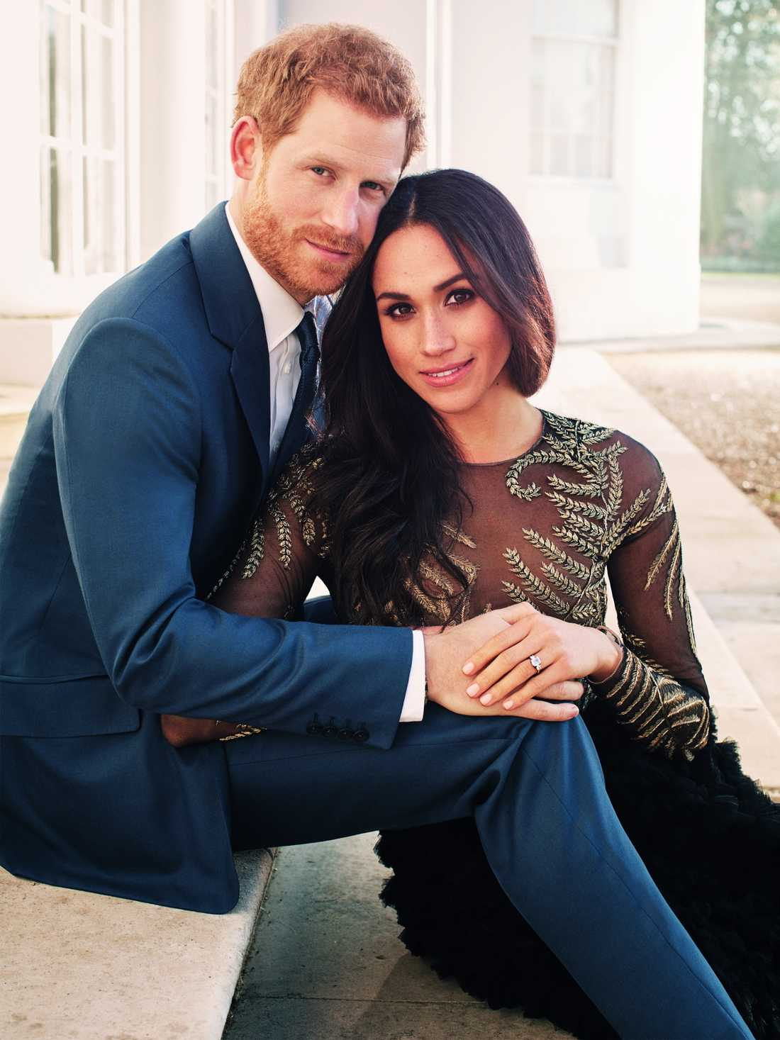 Prins Harry och Meghan Markle.