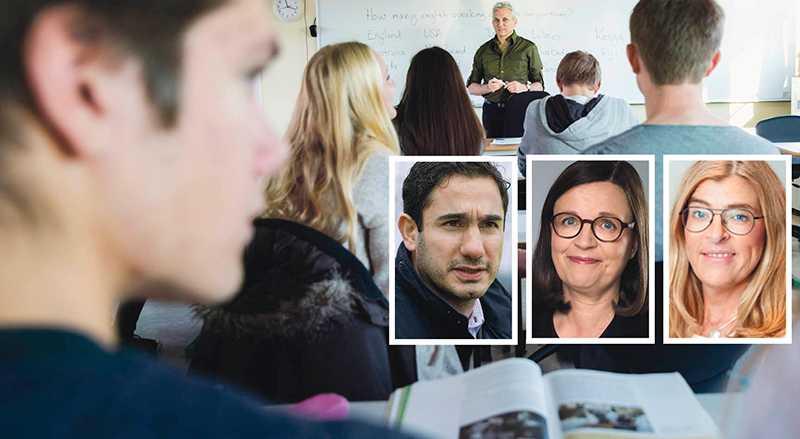 De stora skolkoncernernas vinstdrift hotar mångfalden och den reella valfriheten i skolan, skriver Ardalan Shekarabi, Anna Ekström och Therese Guovelin.
