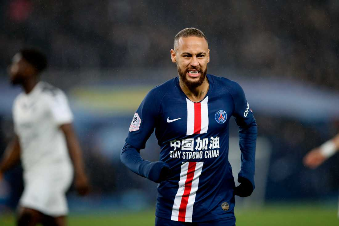Neymar fick ta del av bidragspengar från Brasilien. Arkivbild.