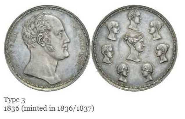 Den ryska familjerubeln föreställande tsar Nikolaj I och hans hustru Alexandra. Myntet såldes för drygt en halv miljon kronor, vilket gör det till ett av de dyraste mynten som någonsin har sålts i Sverige.