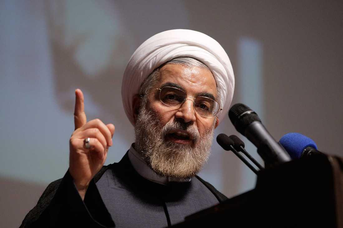 Irans president Hasan Rohani.