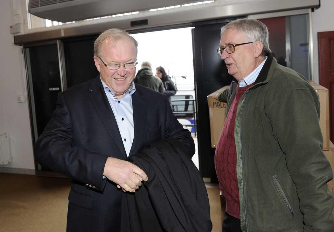 Förre statsministern Göran Persson.