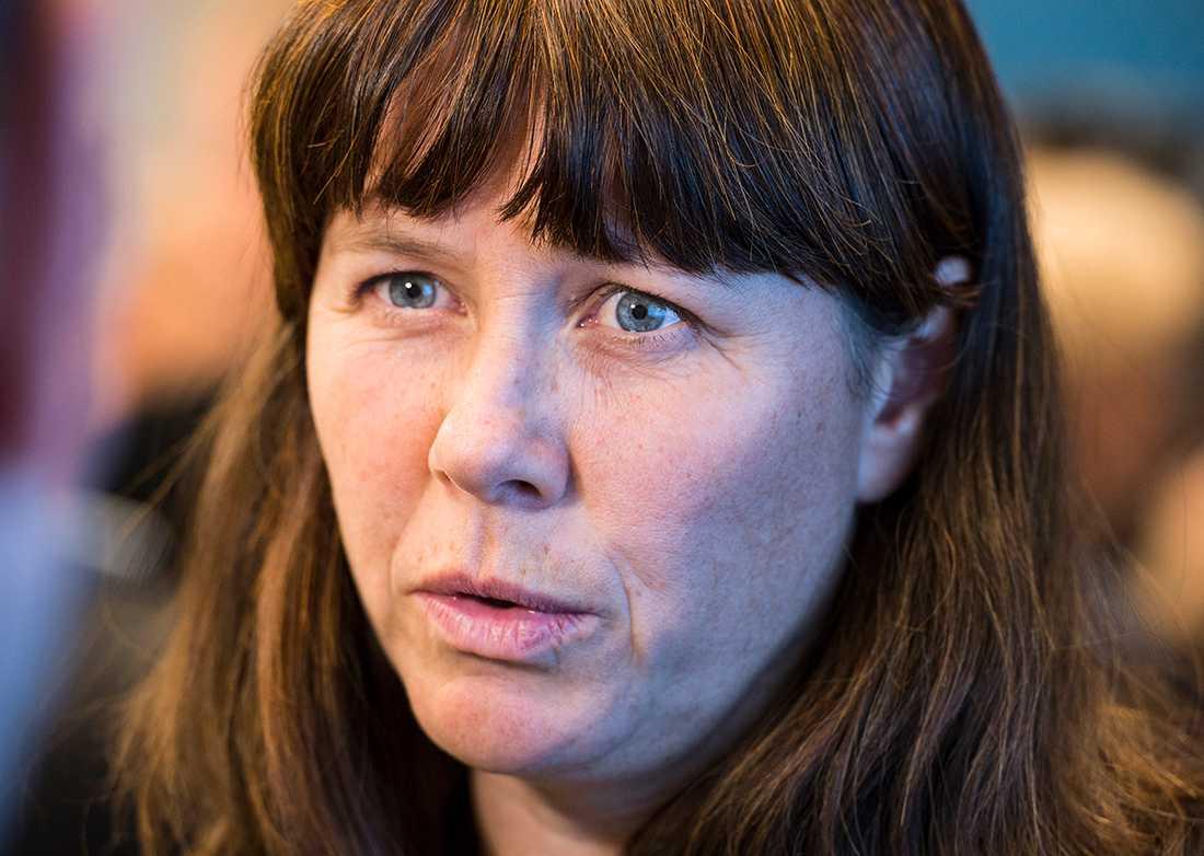Åsa Romson, språkrör i Miljöpartiet.