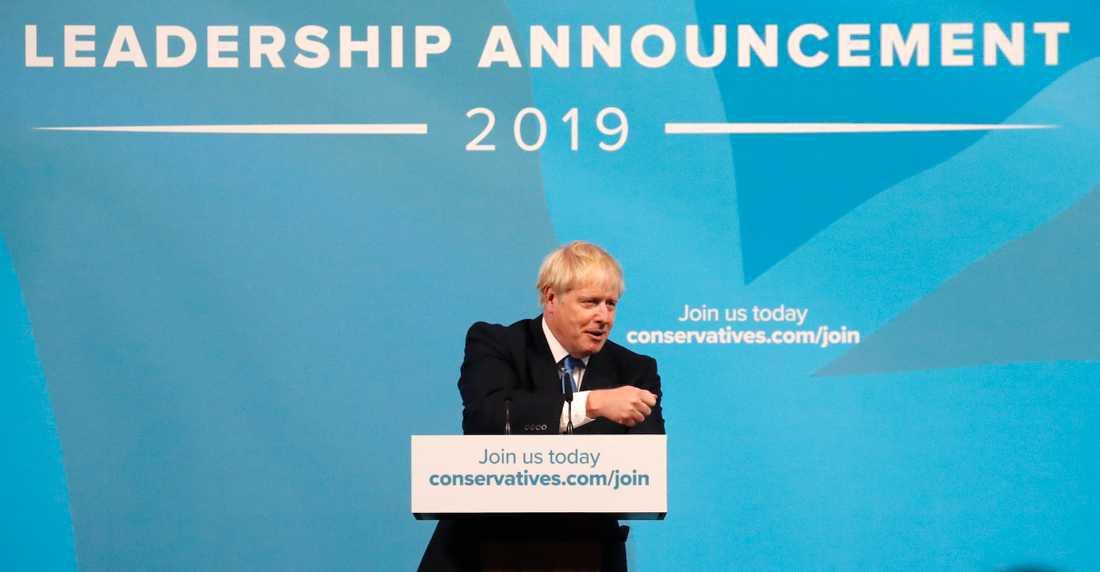 Boris Johnson blir Storbritanniens nye premiärminister.Han vann de konservativas partiledarval mot Jeremy Hunt med klara siffror.