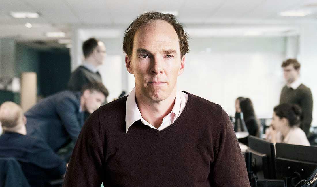 Benedict Cumberbatch spelar Dominic Cummings, i filmen Brexit – The Uncivil War, från streamingtjänsten HBO.