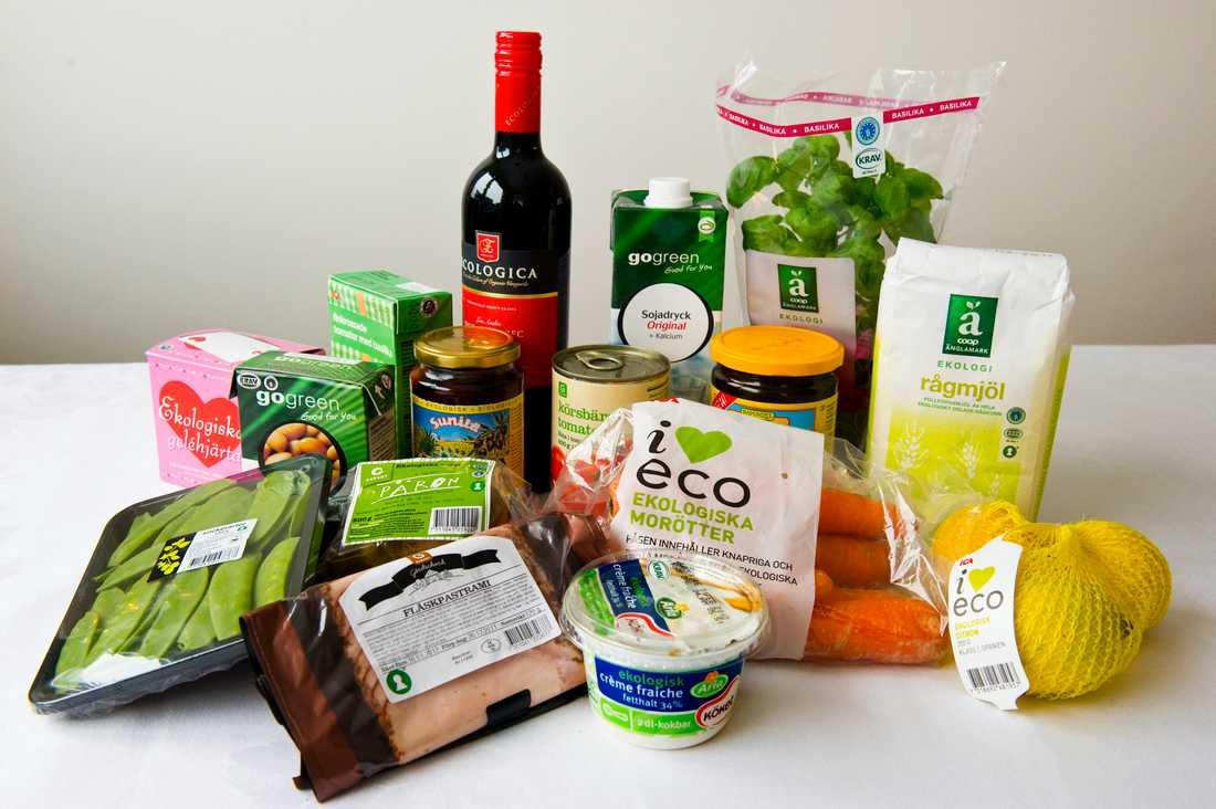 Intresset för ekologiska livsmedel verkar ha planat ut. Arkivbild.