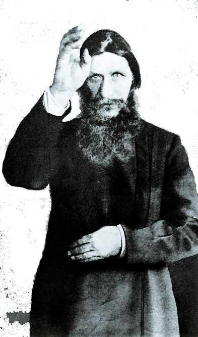 Rasputin, rysk helbrägdagörare. Mördades 1916.