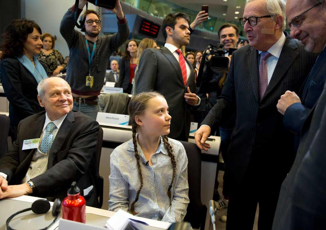 I samtal med Jean-Claude Juncker.