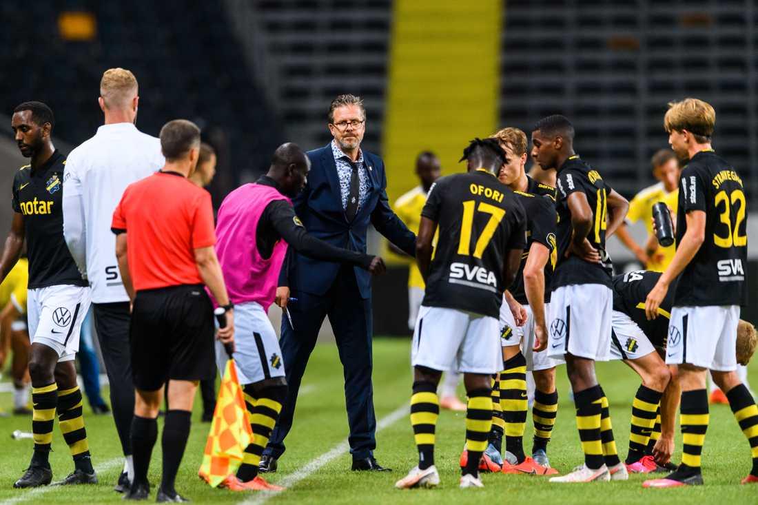 AIK fick nöja sig med 1–1 hemma mot Falkenberg,