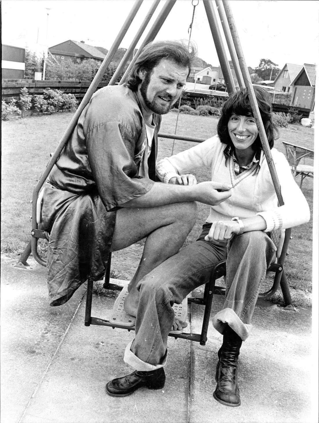 Intervju med Aftonbladets Ebba von Essen 1974.