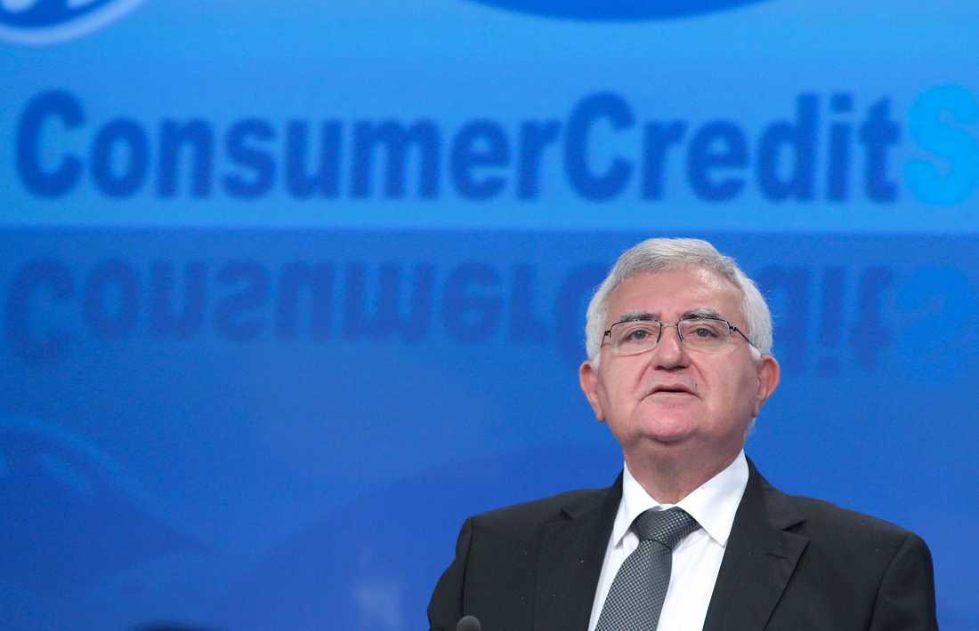 John Dalli, EU-kommissionär med ansvar för hälso- och konsumentfrågor, tvingades avgå efter mutskandalen.