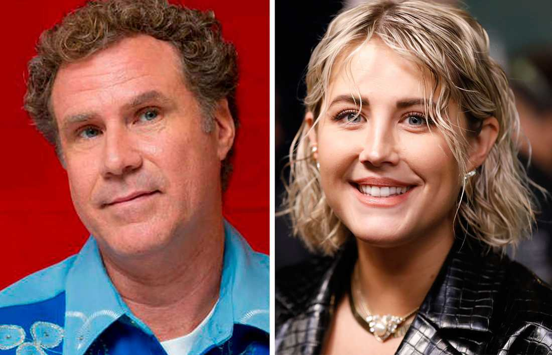 Will Ferrell och Molly Sandén.