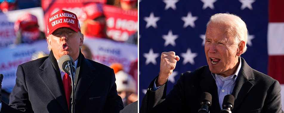 Vem ska det bli: Trump eller Biden?