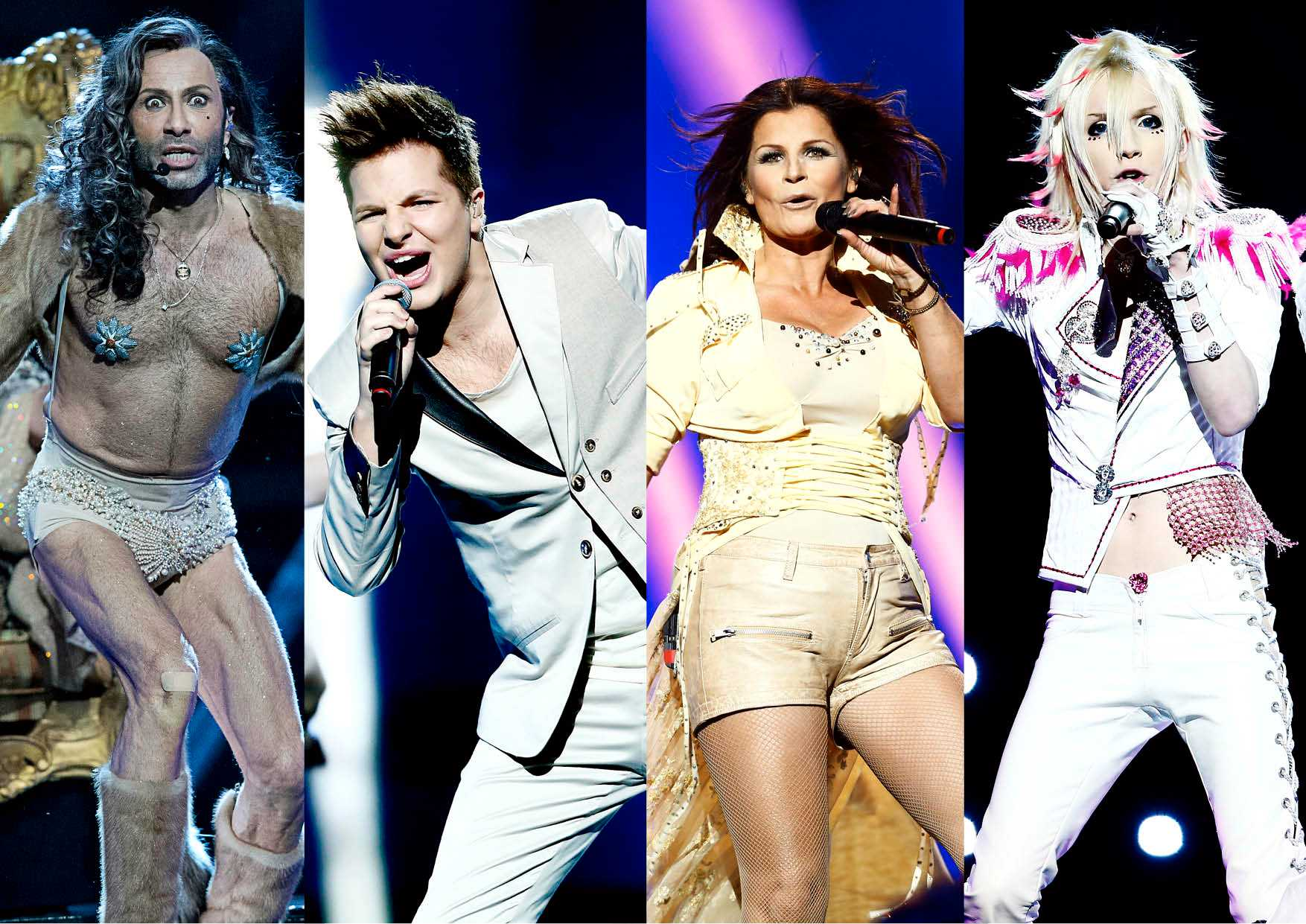 Army of Lovers, Robin Stjernberg, Carola, Yohio. Foto: Magnus Sandberg