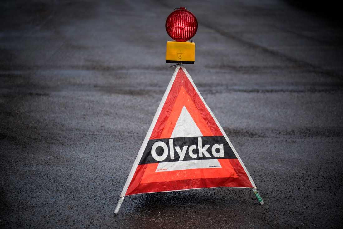 En person har omkommit i en trafikolycka mellan Vingåker och Katrineholm. Arkivbild.
