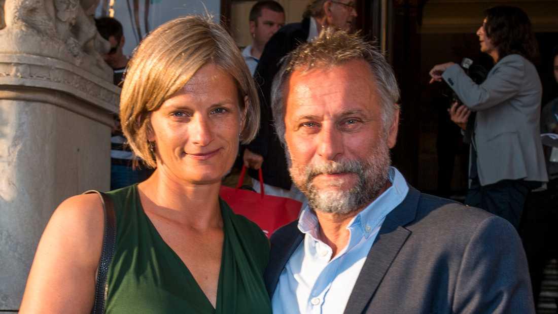 Catharina Nyqvist Ehrnroot och Michael Nyqvist