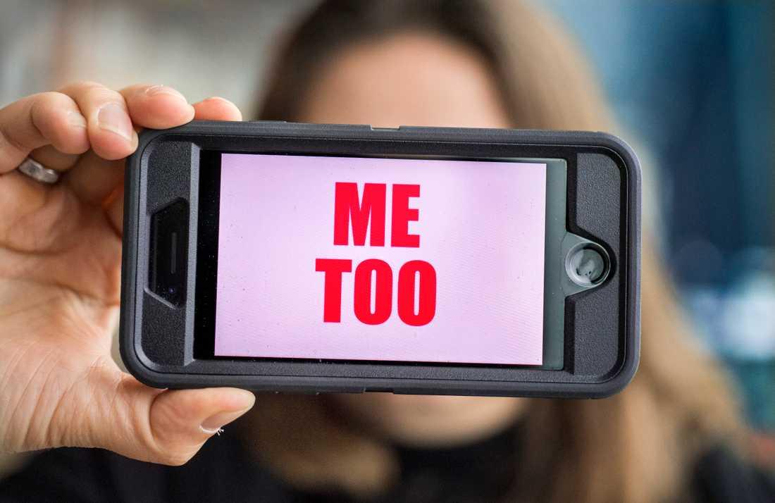 Den 15 oktober är det ett år sedan hashtaggen #metoo tog fart på sociala medier. Arkivbild.