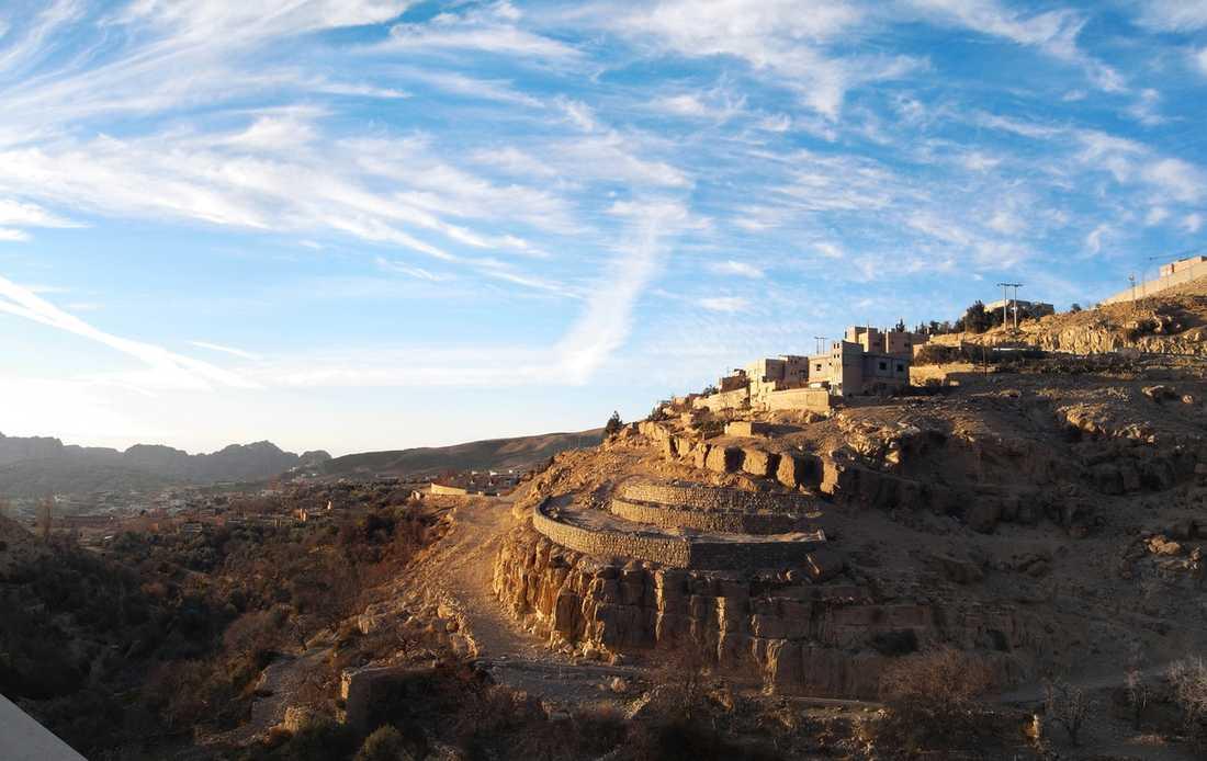Klippstaden Petra finns på Unescos världsarvslista sedan 1985.