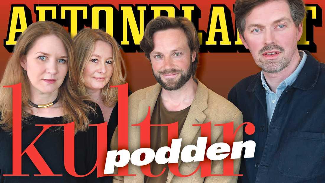 Cecilia Djurberg, Åsa Linderborg, Johannes Wahlström och Martin Aagård pratar om Wikileaks och Julian Assange i veckans podd