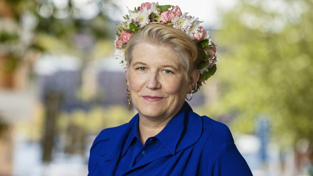 Prästen Camilla Lif.