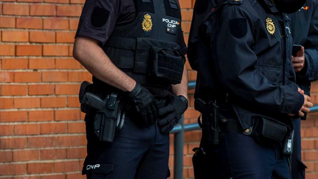 Spansk polis upptäckte brottet sedan kvinnan anmälts försvunnen. Arkivbild.