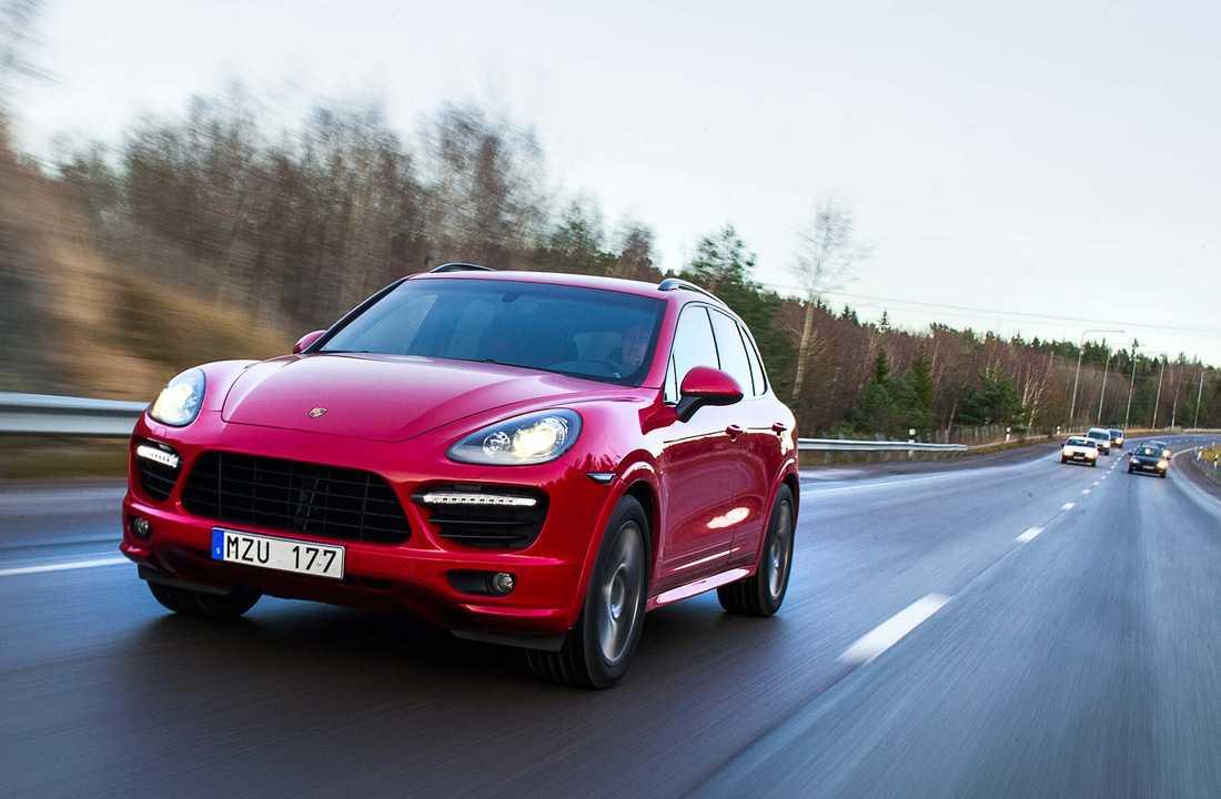 Porsche inför säljstopp på suven Cayenne med dieselmotor i USA.