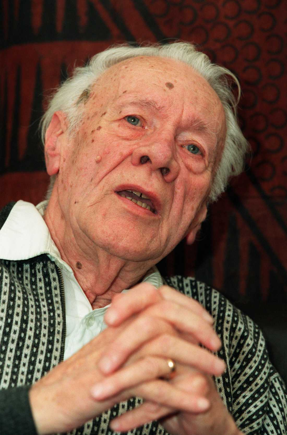 Radioprofilen Bertil Perrolf (1917–2004).
