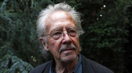Nobelpristagaren i litteratur 2019, österrikiska Peter Handke.