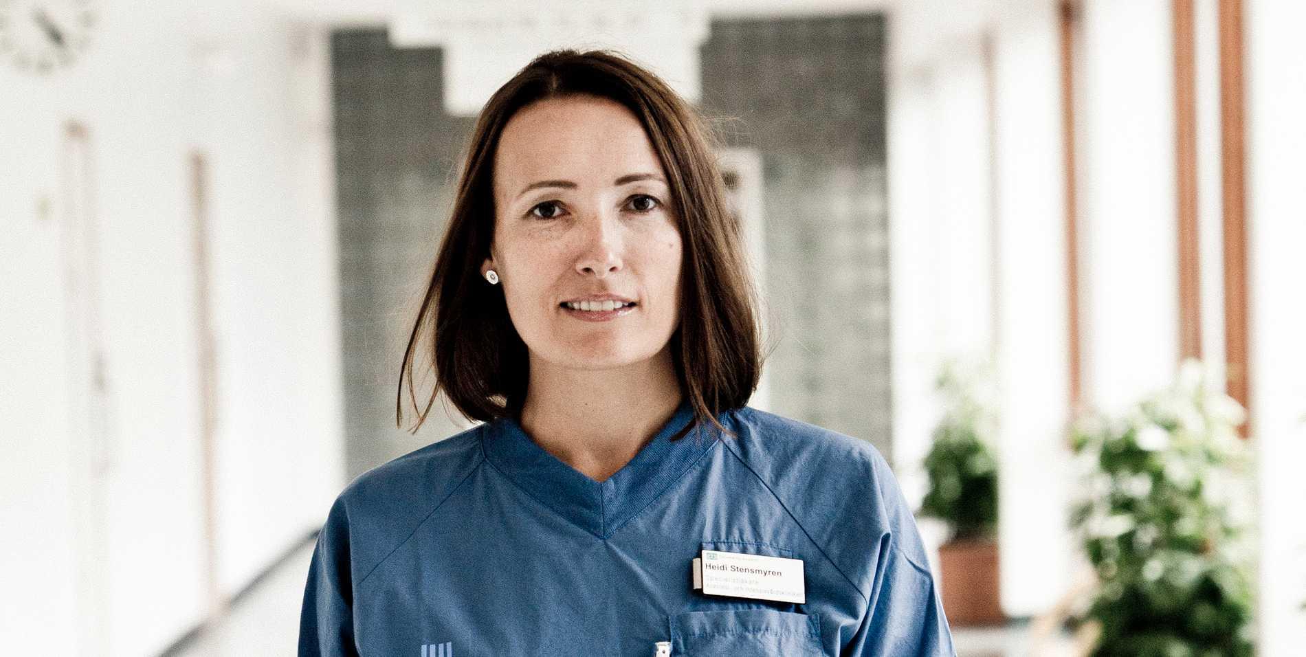 Heidi Stensmyren.
