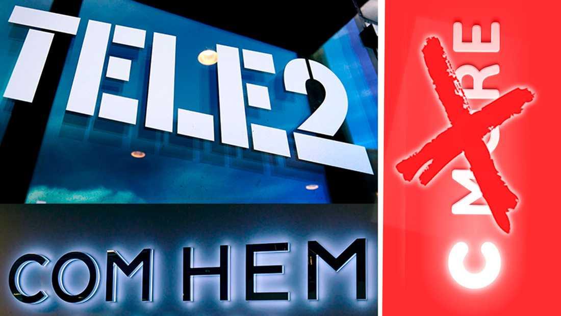Senaste draget i tv-bråket: C More försvinner från Com Hems utbud.