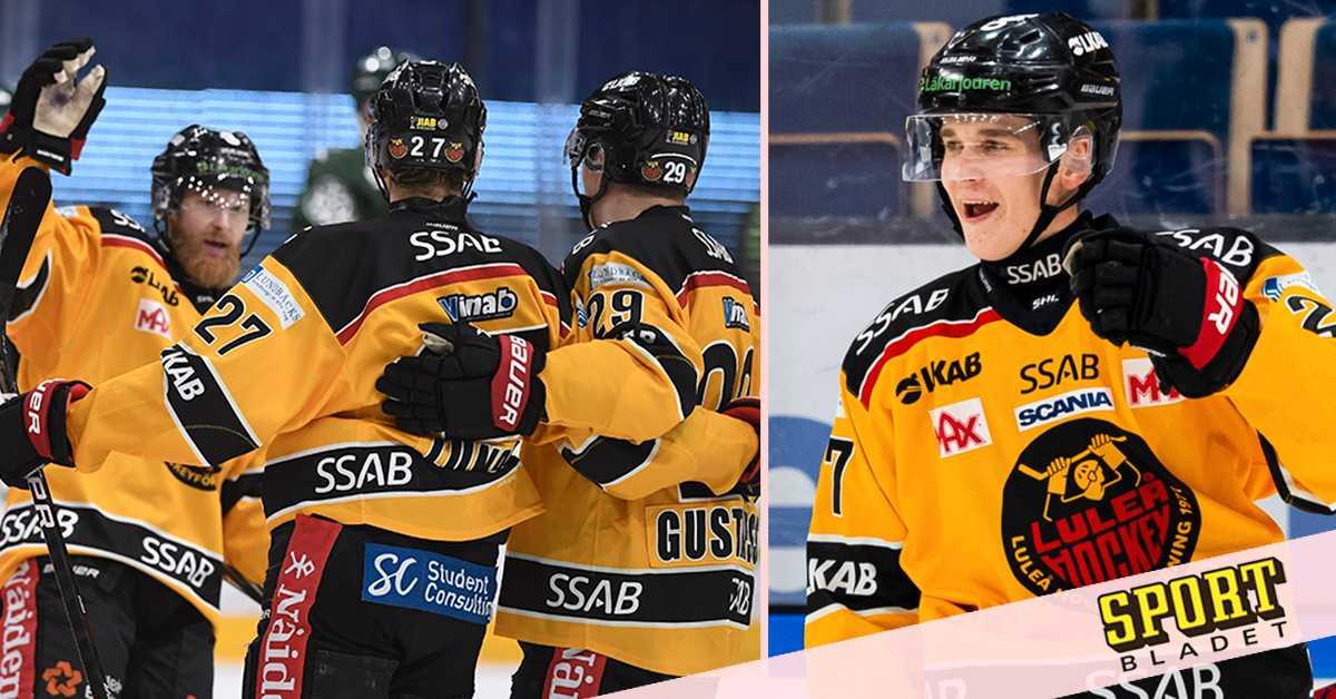 Nils Lundkvist bakom Luleås seger