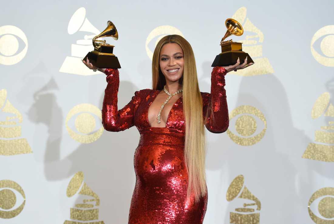 Beyoncé på amerikanska Grammy-galan