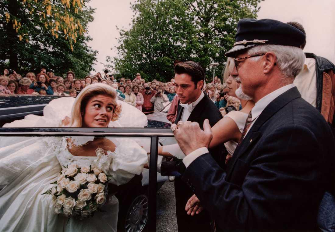 Pernilla och Emilios bröllop 1993