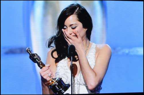 Marion Cotillard vann Oscar för bästa kvinnliga huvudroll 2008.