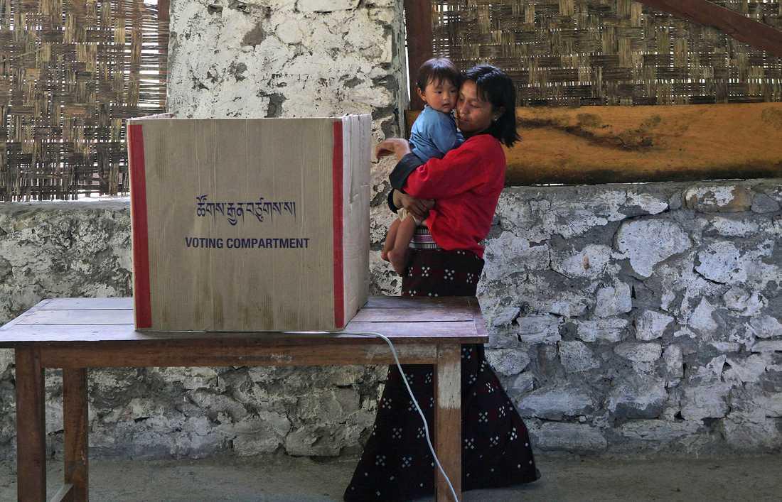 Sist när det begav sig, valet 2013 i Bhutan. Arkivbild.