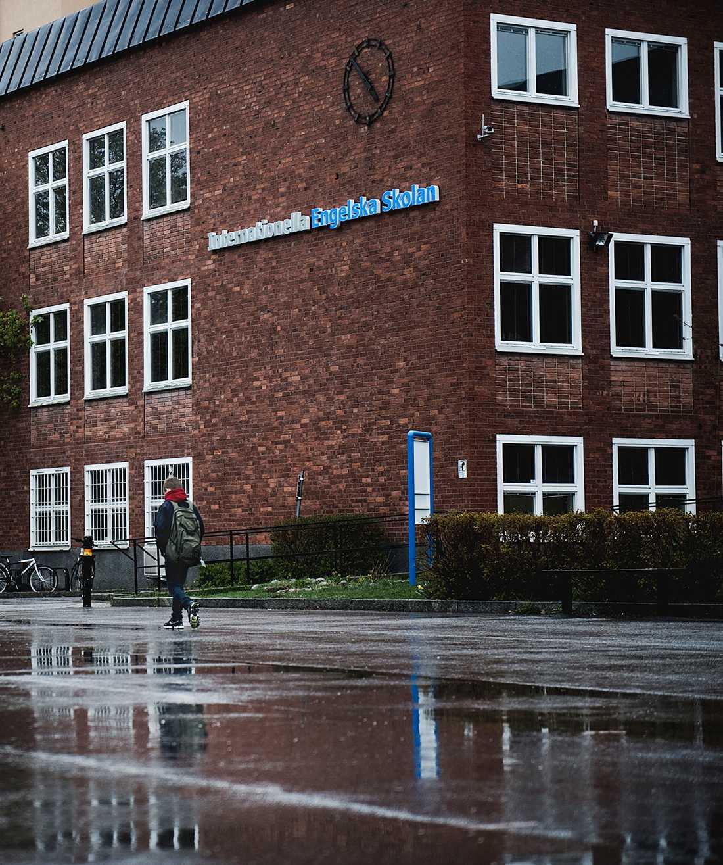 Internationella Engelska skolan i SaltsjöBaden.