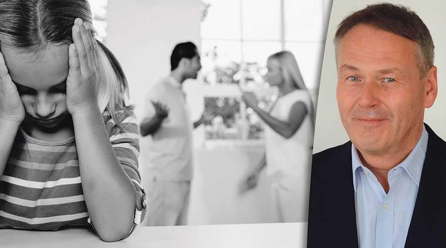 Föräldraalienation är en allvarlig form av psykisk misshandel. Det är skamligt att Sverige tillåter detta och ignorerar barnets behov av sina föräldrar, Matts Hertsberg.