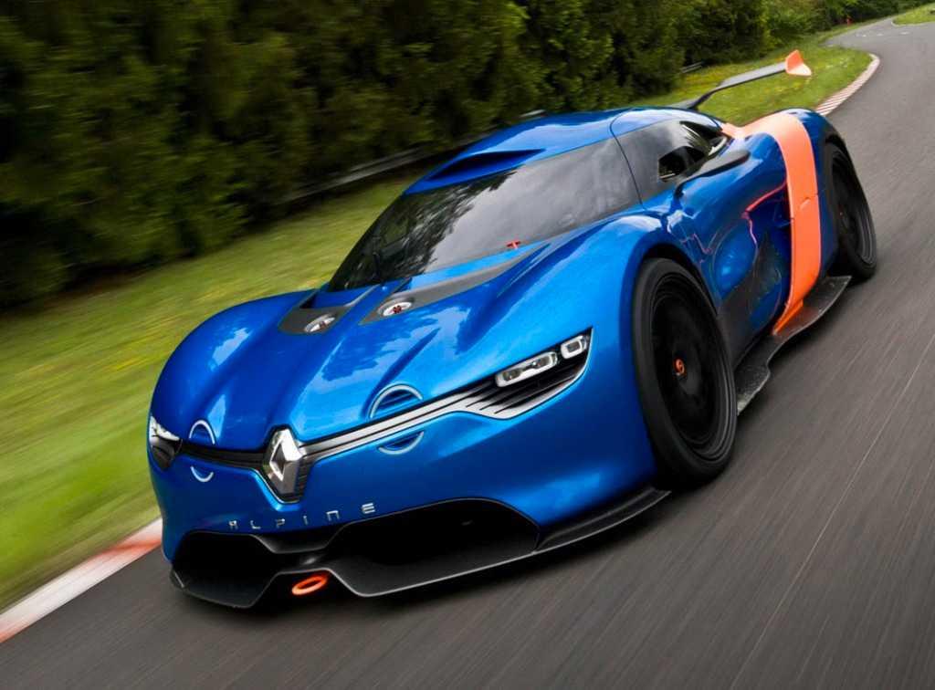 Alpine A110-50 visades 2012 och var en hyllning till rallybilen A110 som blev 50 år gammal.