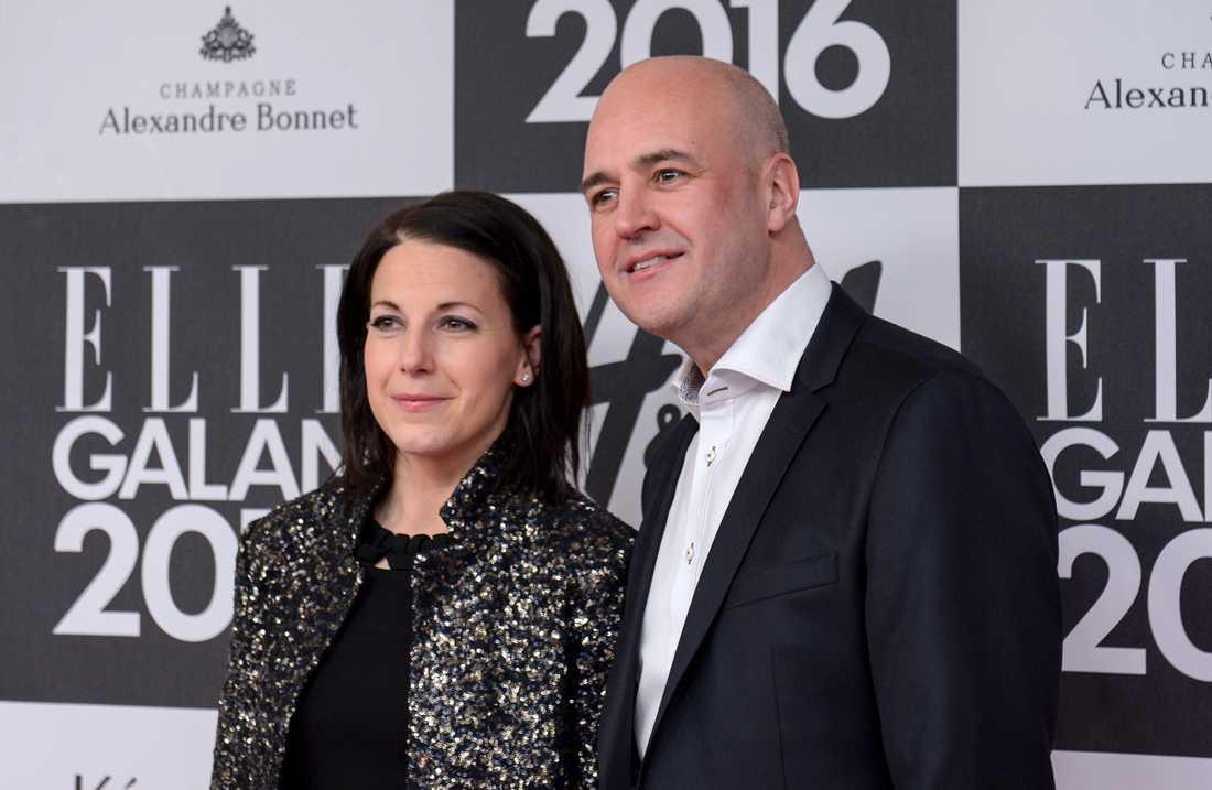 Roberta Alenius och Fredrik Reinfeldt har fått en dotter. Arkivbild.