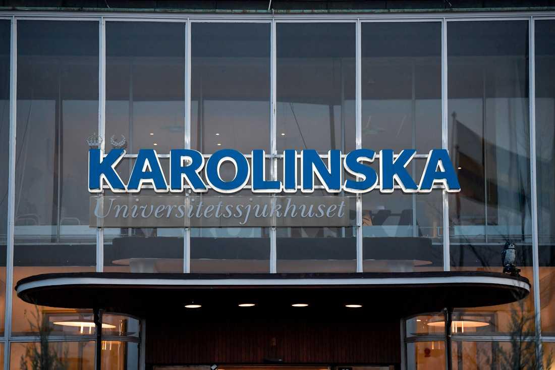 Karolinska får kritik av DO. Arkivbild.