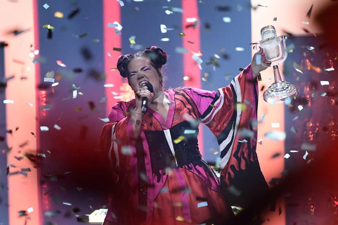 Israel vann Eurovision.