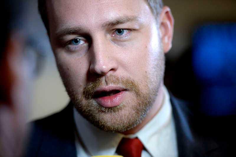 SD:s gruppledare och tidigare vikarierande partiledare Mattias Karlsson.