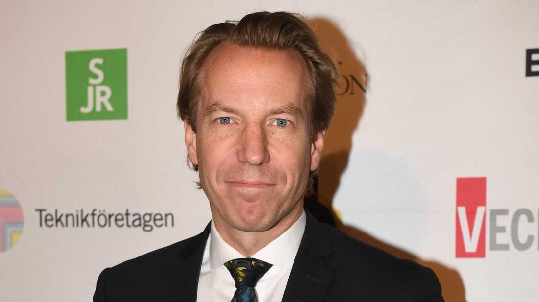 Anders Eriksson är vd för Bonnier News, som via Mittmedia blir delägare i Hall Media. Arkivbild.