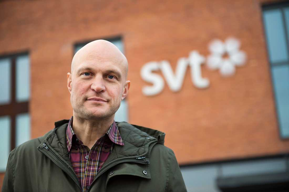 Journalisten Fredrik Önnevall och två andra SVT-medarbetare döms även av Högsta domstolen för människosmuggling. Arkivbild.