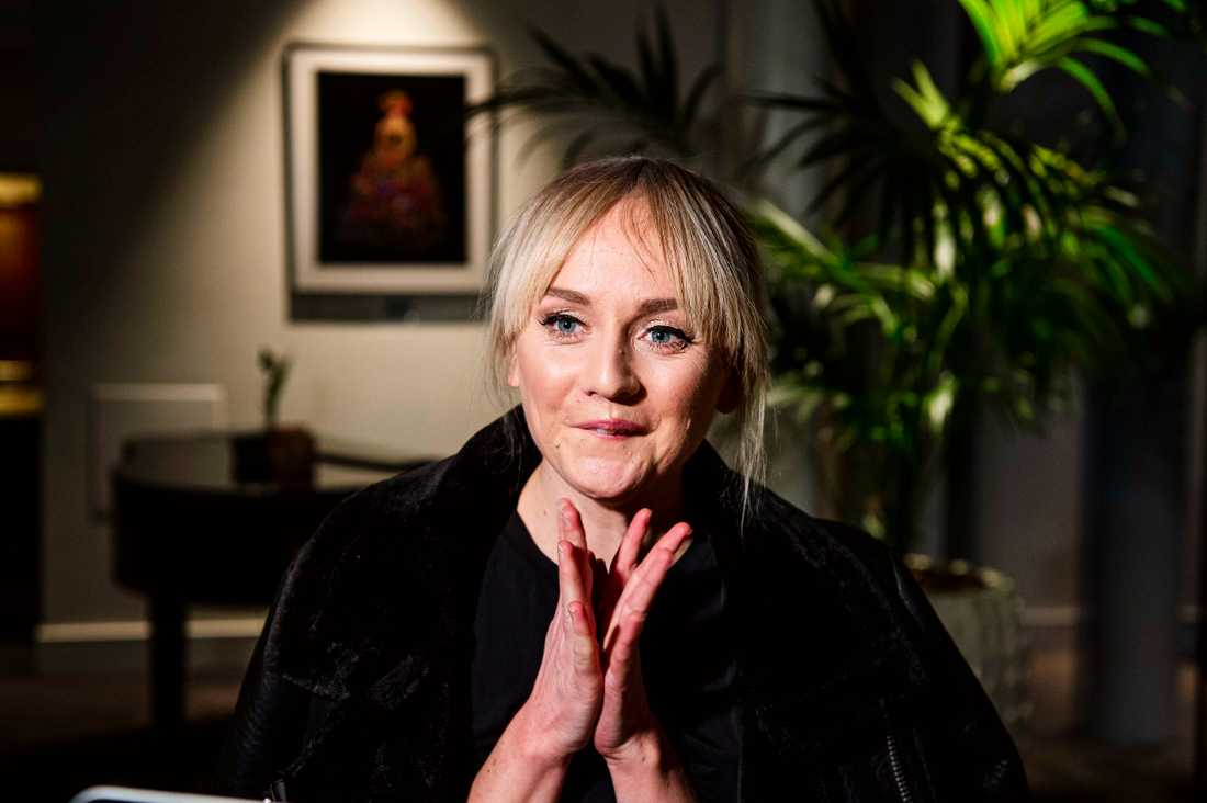 Anna Bergendahl tycker att det är på tiden om en kvinna vinner.